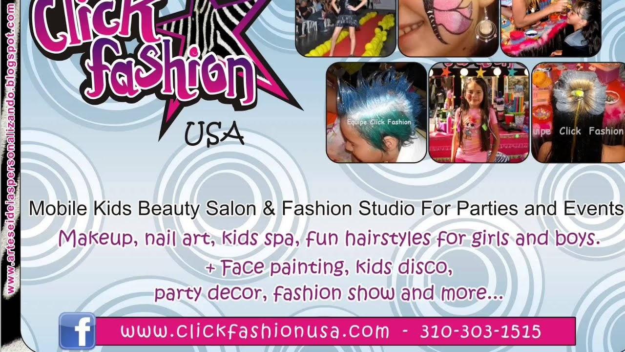 Children party Entertainment -Fashion & Dance Party by Click Fashion ...