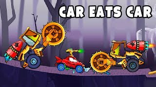 Car Eats Car Beetle vs Boss Compactor - Online PC Game For Kids