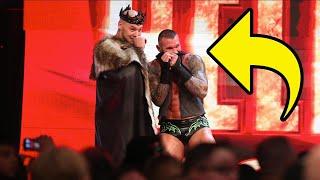 Randy Orton Corpses As Baron Corbin Breaks Throne On WWE Raw