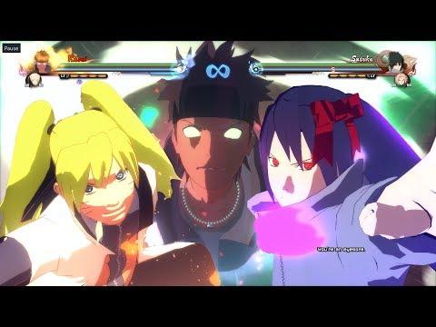 Naruto Shippuden Ultimate Ninja Storm 4 Kasai Homura Original Mod Preview + Test Models