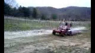 Honda Odyssey 540cc Snowmobile engine
