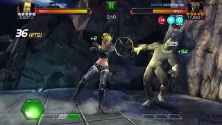 MCOC - AW season 3 - Magik vs Killmonger node 29 (old node 30)