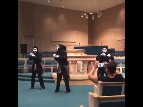 Let the church say amen- mime dance