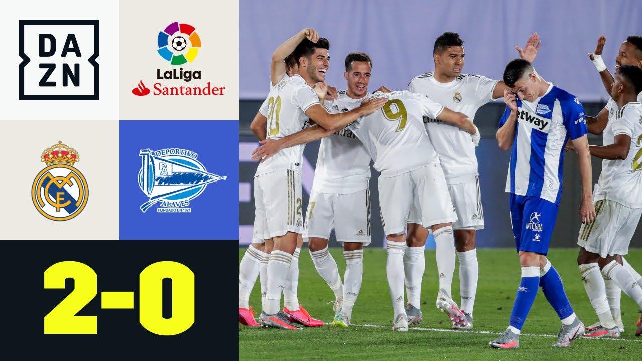 Il Real non sbaglia: Real Madrid-Alaves 2-0   LaLiga   DAZN Highlights