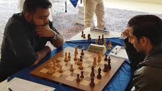 Brilliant queen sacrifice and mating attack by GM Deepan against GM Swapnil