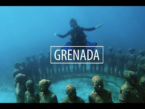 GRENADA: Underwater Sculpture Park, Jungle Villas, and Scuba Diving