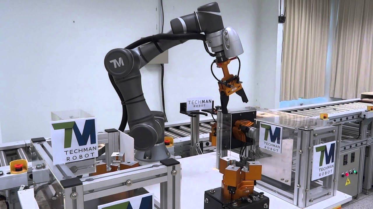 TM robot-TM5-demo- with RGK gripper-V3011 - YouTube
