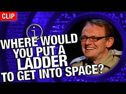 Thumbnail: QI | Where Would You Put Your Ladder If You Wanted To Get To Space?