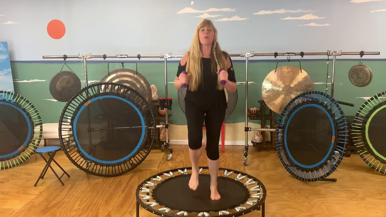 Rebounding Toning & Weight Loss - YouTube