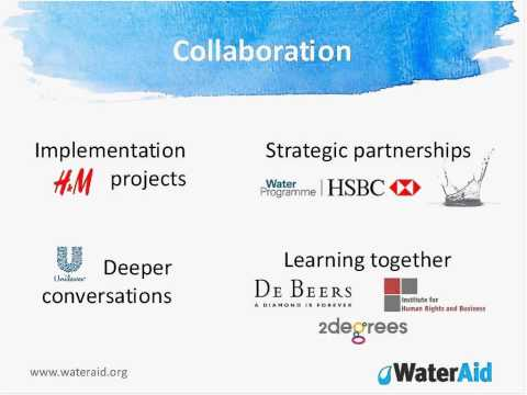 How to engage communities and collaborate to manage water risk