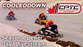 Canadian Power Toboggan Championships, Day 1