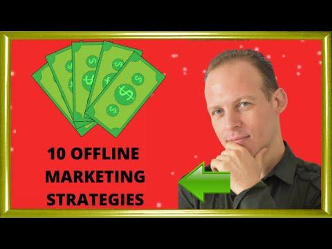 10 Offline marketing strategies to grow your business. Best offline marketing ideas that still work