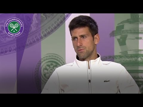 Novak Djokovic Wimbledon 2017 quarter-final press conference