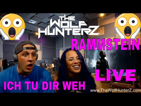 Rammstein - Ich Tu Dir Weh (Live from Madison Square Garden) THE WOLF HUNTERZ Reactions