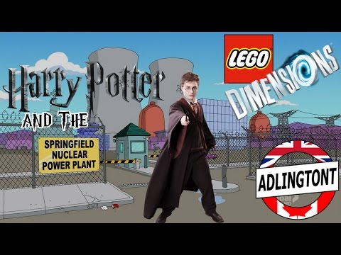 Lego Dimensions - #4 - Harry Potter and the Springfield Nuclear Power Plant