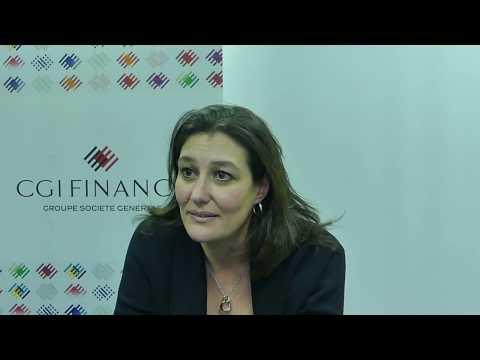 FITAE Rencontre Carine DE SAN FELICIANO, Directrice ajdointe CGI Finance - Groupe société générale