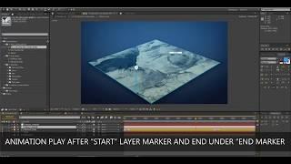3D-Karte Weg-Generators (AE-Verschiebung): Pfad Erstellen
