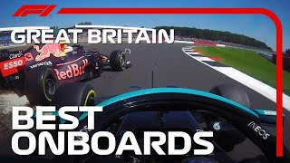 Max And Lewis' Crash, Speedy Moves And The Best Onboards | 2021 British Grand Prix | Emirates