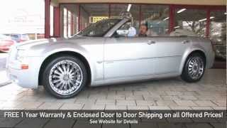 2007 Chrysler 300C HEMI Convertible for sale with test drive, driving sounds, and walk through video