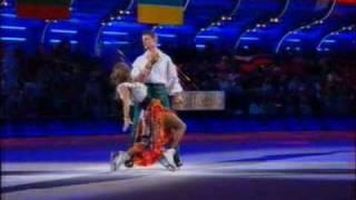 Алексей Воробьёв и Татьяна Навка. Второй танец на льду