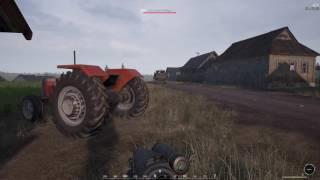 Humvee rolling into BTR and Village assault