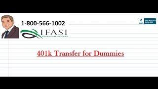 401k Transfer for Dummies