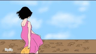 رسم فتاه وتحريكها على تطبيق FlipaClip