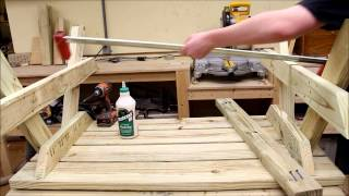 001 How to Build a Childs Picnic Table