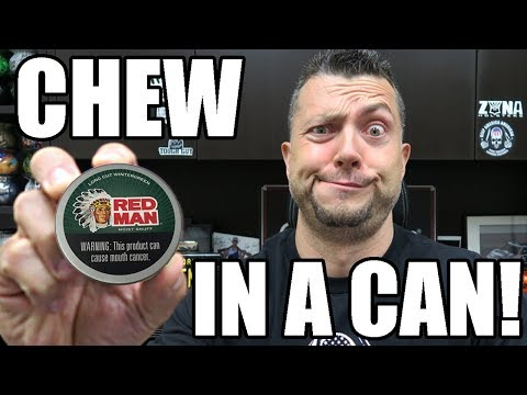 CHEW IN A CAN!