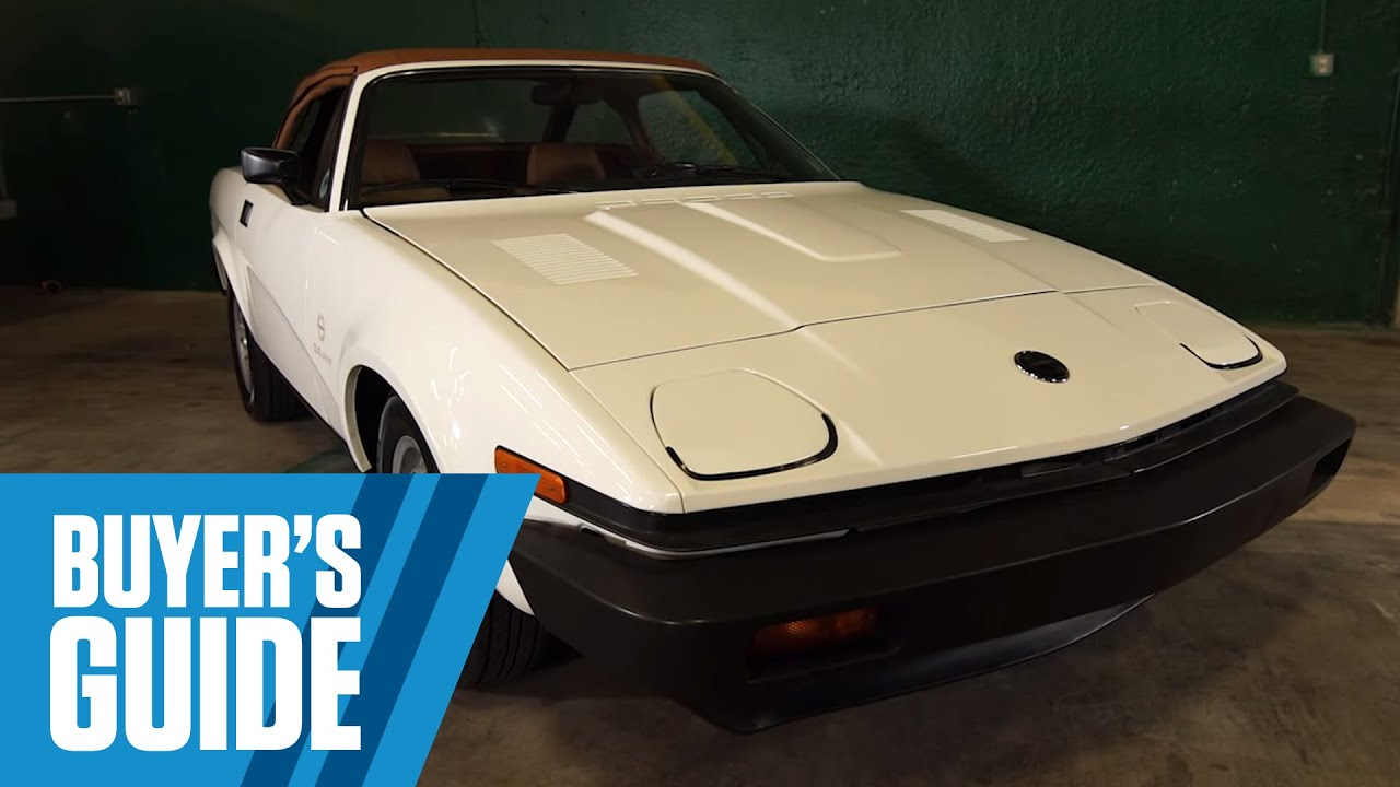 Triumph TR8 | Buyer\'s Guide - YouTube