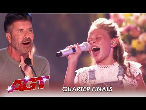 Ansley Burns: She's Back As WILDCARD To Prove Simon Cowell Wrong! | America's Got Talent 2019