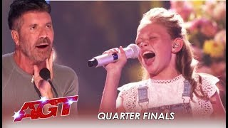 Ansley Burns: She's Back As WILDCARD To Prove Simon Cowell Wrong! |