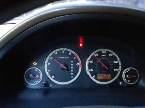Honda CRV EX 2005 VSA PROBLEM