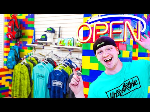 I Opened A STORE In My HOUSE!