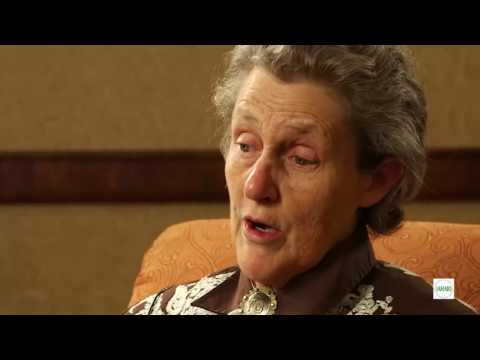 IAHAIO interview of Temple Grandin - Conference in Paris 2016