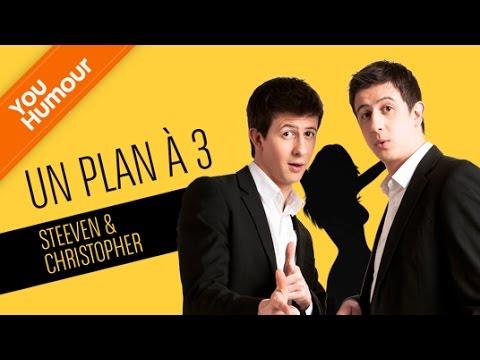 STEEVEN ET CHRISTOPHER - Le plan à trois