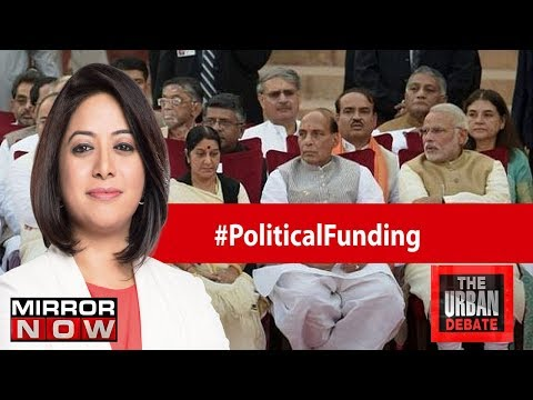 Has Government weakened the laws of political funding? | The Urban Debate With Faye D'Souza