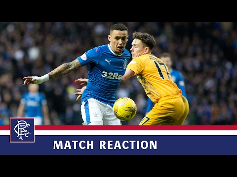REACTION | James Tavernier | Rangers 2-1 Morton