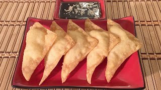How To Make Crab Cream Cheese Wontons-chinese Food Recipes