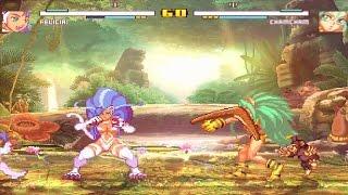M.U.G.E.N : Felicia vs Cham Cham - Catfight (Rematch)