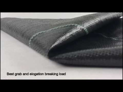 What does a Good Landscape Fabric Looks Like? AGU Virgin PP Woven Weed Barrier