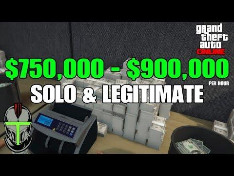 GTA Online: Money Guide $750,000 - $900,000 Per Hour!!!