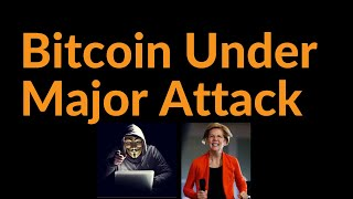 Bitcoin Under Major Attack