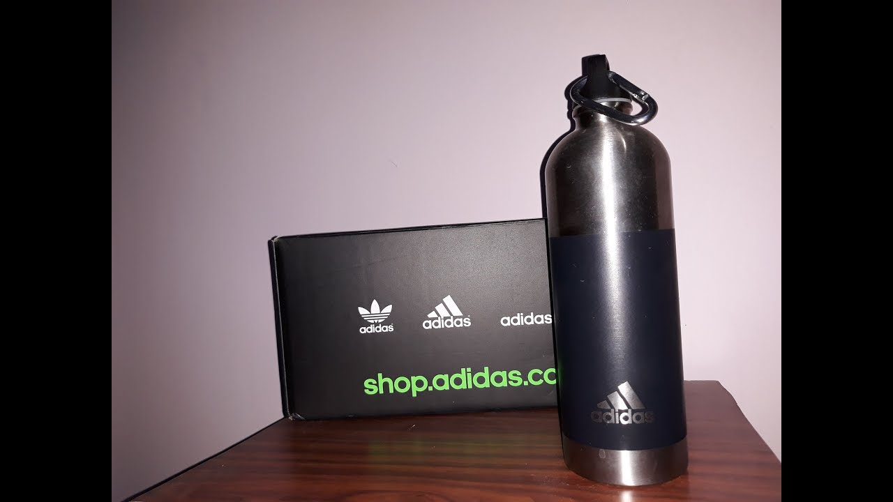 bf415f35 adidas Trainning Water Bottle - QUICK UNBOXING & REVIEW