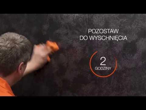 Efekt Stiuk Carbon Fox Dekorator Film Instruktażowy
