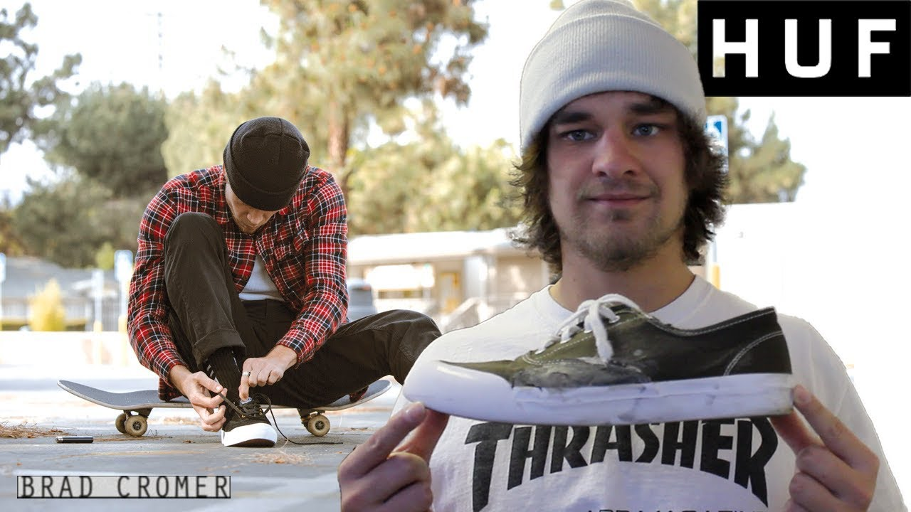 3aeadbfa2052a THE CHEAPEST PRO SKATEBOARDING SHOES YOU CAN BUY ON THE INTERNET! HUF  CROMER SKATE SHOE