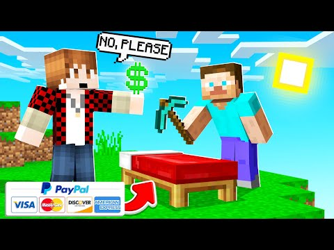 I will PayPal Players to NOT Destroy my Bed in MINECRAFT BED WARS (did it work?)