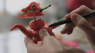 Chinese Arts and Crafts: Wenxi Dough Figurines Promo