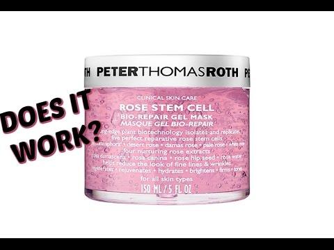 NO MAKEUP MONDAY~Peter Thomas Roth Rose Stem Cell Mask