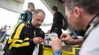 US Escape Artist Pulls Off Locked Coffin Skydive